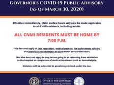 CNMI curfew violators will face 30 days in jail