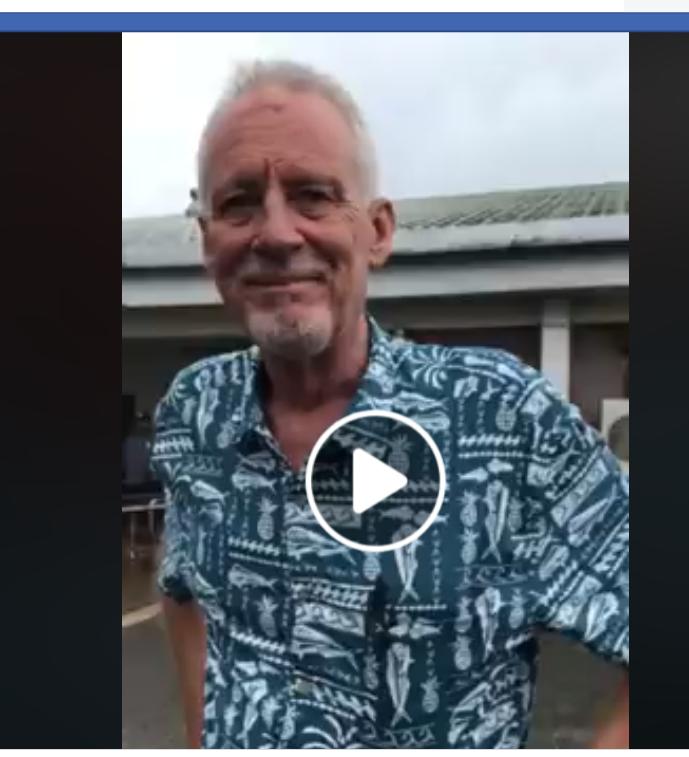 Bill Jaynes in Chuuk