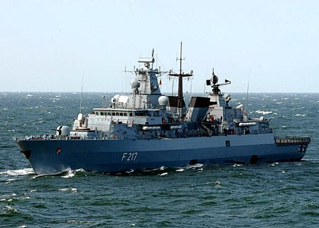 German warship Bayern arriving in Guam today for a 5-day visit