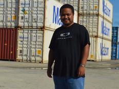 Aric Nakamura : Youngest senator in Palau