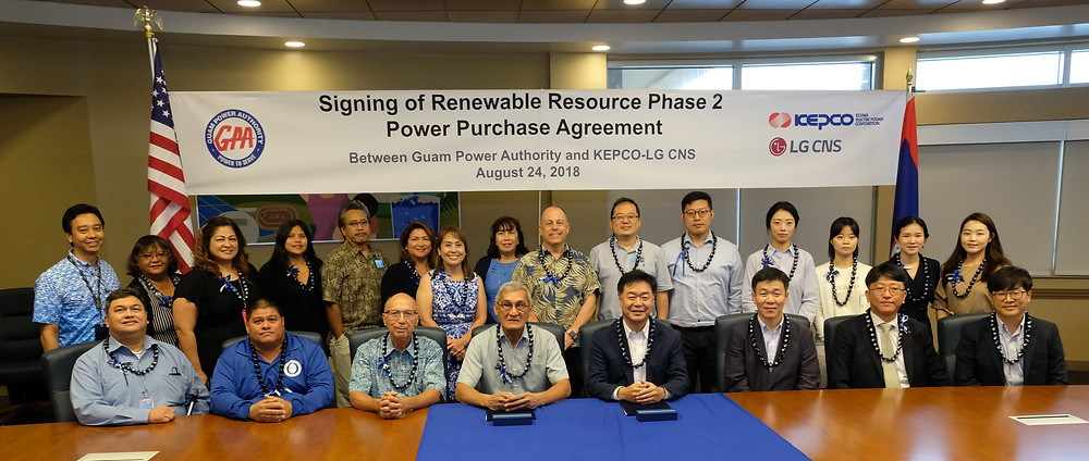 GPA KEPCO signing ceremony for renewable energy