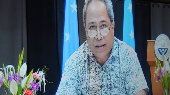 FSM official says world leaders too farsighted, overlooking near-term solutions to temperature rise