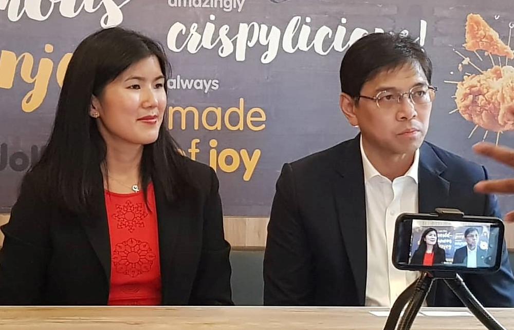 Franceen Chua and Dennis Flores