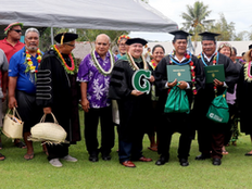First baccalaureate graduation makes history in Yap
