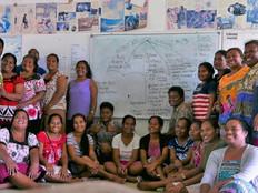 Kiribati teachers complete human rights training module