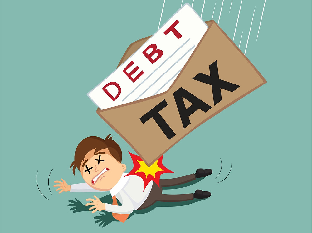 tax debt burden