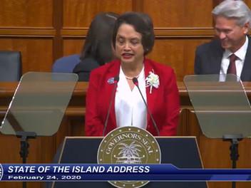 Leon Guerrero: 'Our island is stronger'