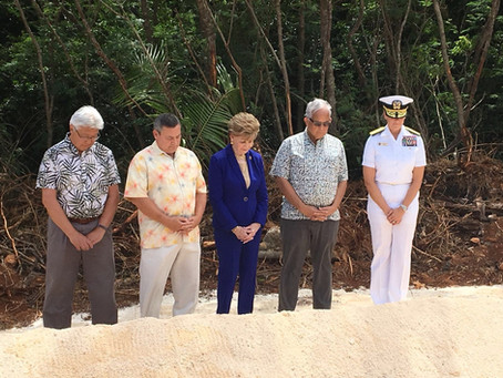 Guam cultural resources receive attention