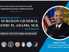 US surgeon general: vaccine available for Guam by end of the year