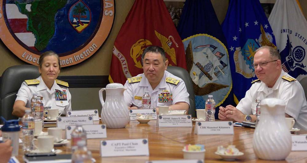 Joint Region Marianas Sosana Chatfield with Tatsuhiko Takashima,
