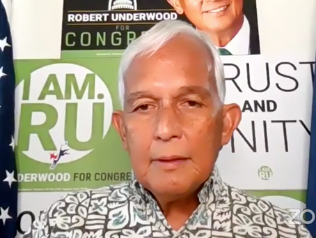 Underwood vows to get Guam representation in Compact talks
