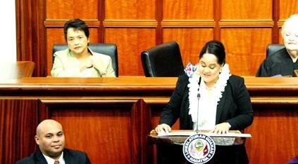 Speaker Tina Muna Barnes