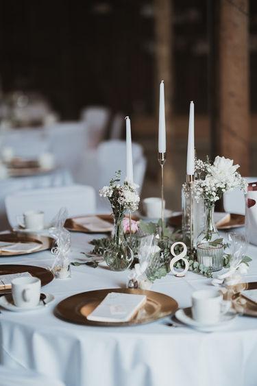 Wunderschöne Tischdeko von Feierei Liebelei!