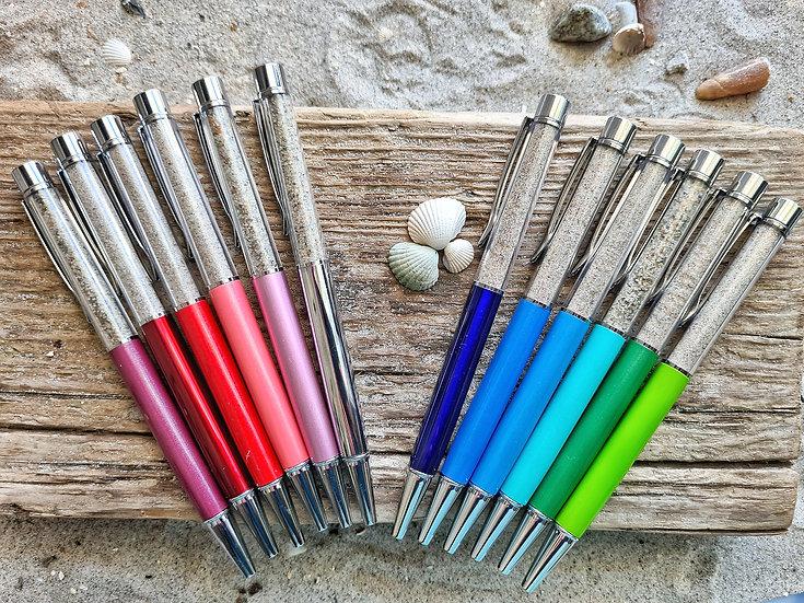 Kugelschreiber Sand