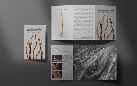 Alexander Graf Fotografie & Grafik Wuppertal Astwerk Lichtobjekte Flyer