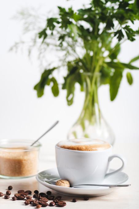 Eiscafé Eisberg Spitzeneis Wuppertal Kaffee Cappucciono