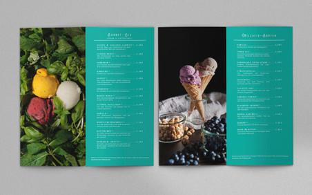 Eiscafé Eisberg Spitzeneis Wuppertal Eiskarte #2