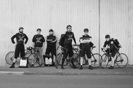 Alexander Graf Fotografie & Grafik Wuppertal Fotograf Portrait LeCourier Fahrradkuriere