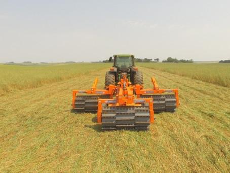 Rolo Faca KATRINA en rotaciones de cultivos, pastos y integración cultivo-ganadería.