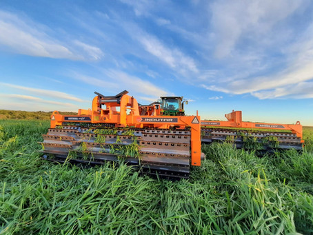 Rolo Cuchillo, una herramienta clave para la gestión de la cobertura agrícola