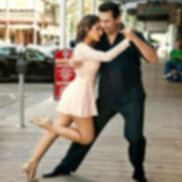 Dance Dip Pose