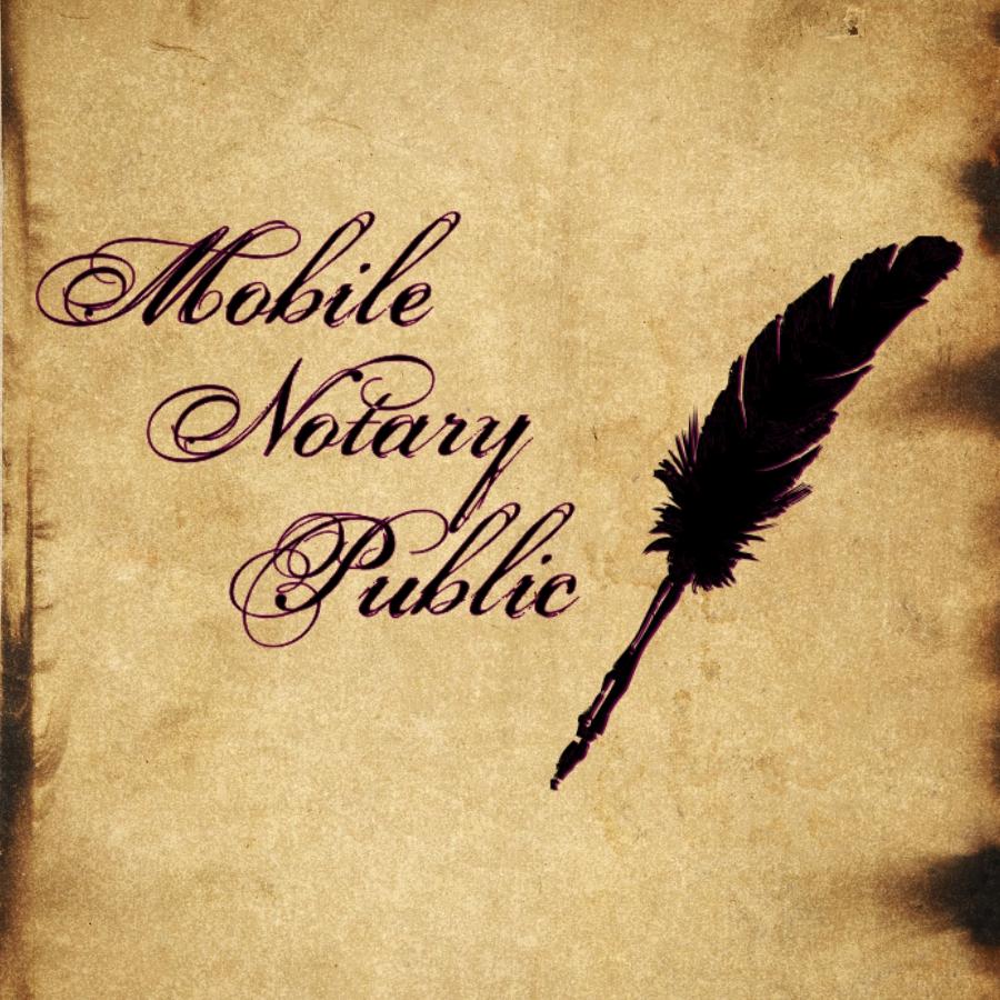 Mobile Notary Public logo