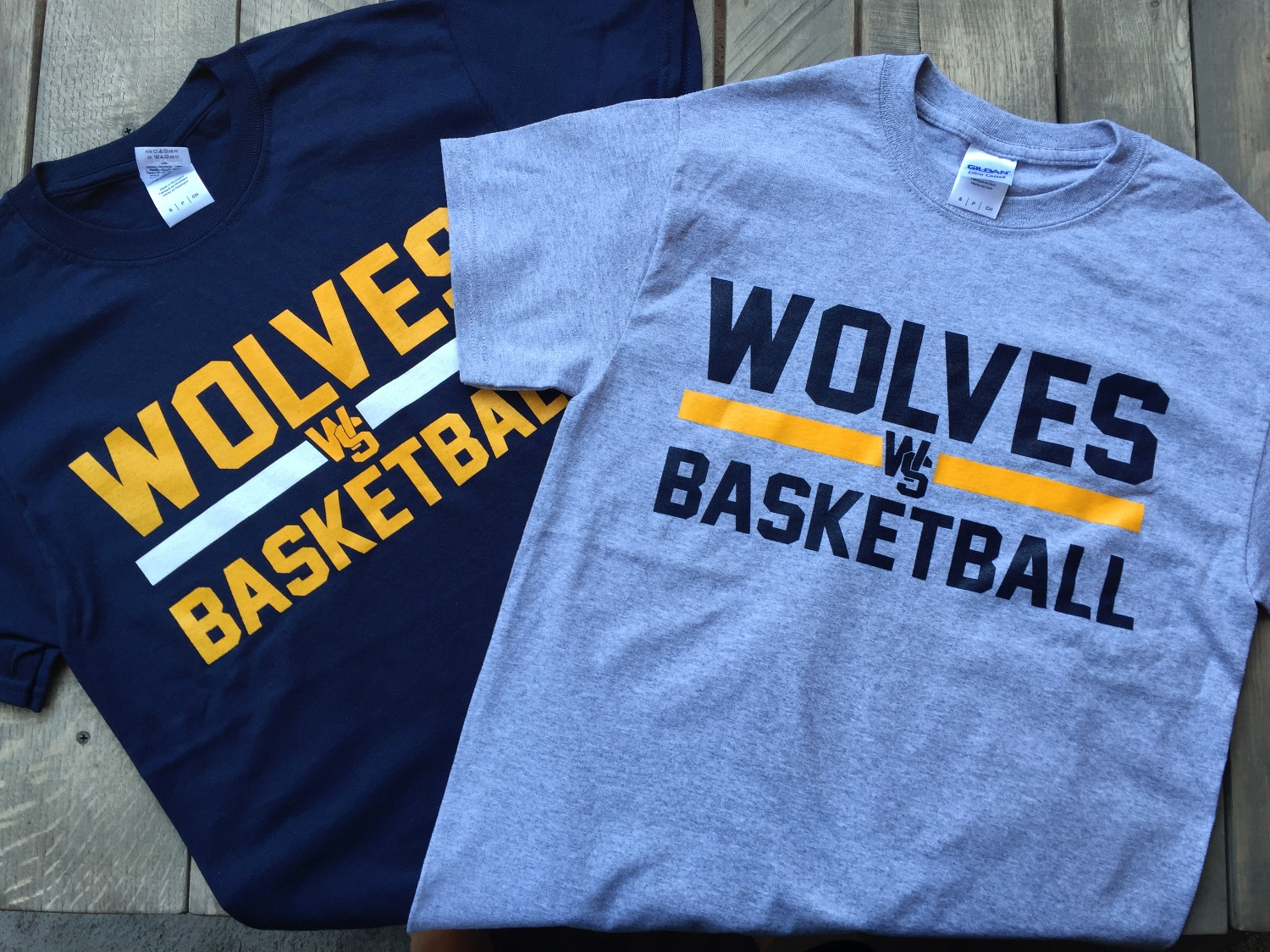 WOLVES Basketball t-shirt