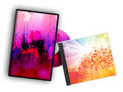 "5000 Quantity UPLOAD YOUR DESIGN 4.75""x 9.5"" Two Panel CD jewel case ins"