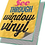 "Thumbnail: 36""x 36""Window Graphics See-Through Mesh Vinyl UPLOAD YOUR DESIGN"