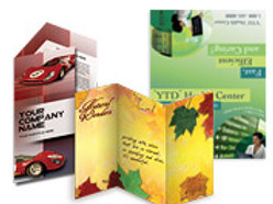 Brochure Design + Set of 500 Tri-Fold Brochures