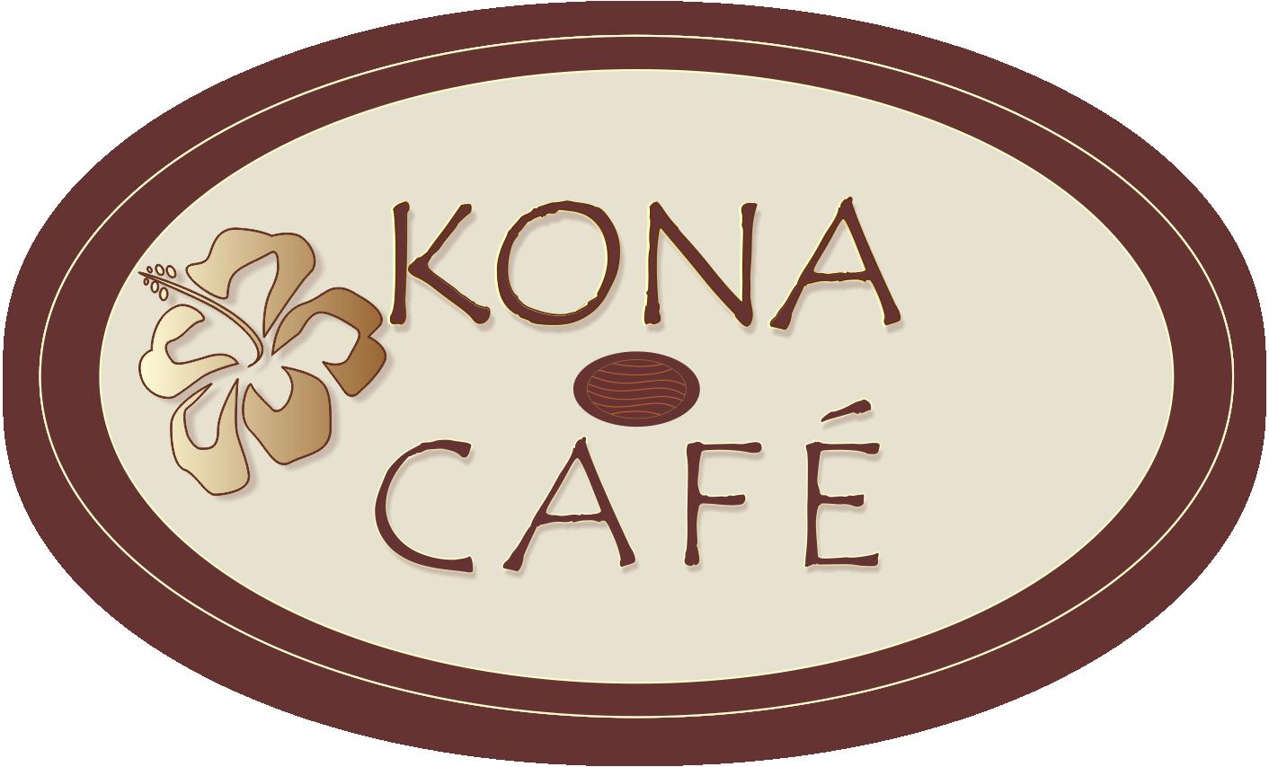 KONA Cafe logo