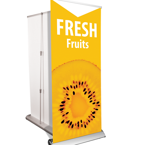 "47""x 80"" Banner Stand & Banner UPLOAD YOUR DESIGN"