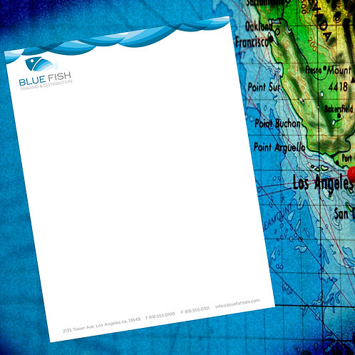 "500 quantity UPLOAD YOUR DESIGN 8.5""x11"" Letterhead"