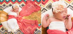 Fleeting smile on a newborn