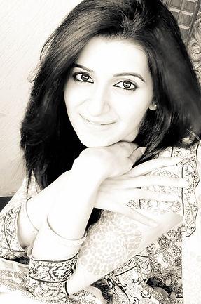 Self-portrait in black and white / monochrome