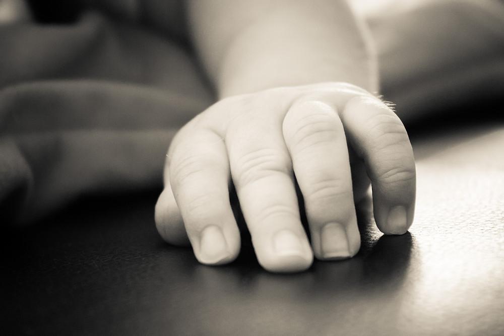 a little hand