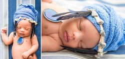 Africa themed newborn session