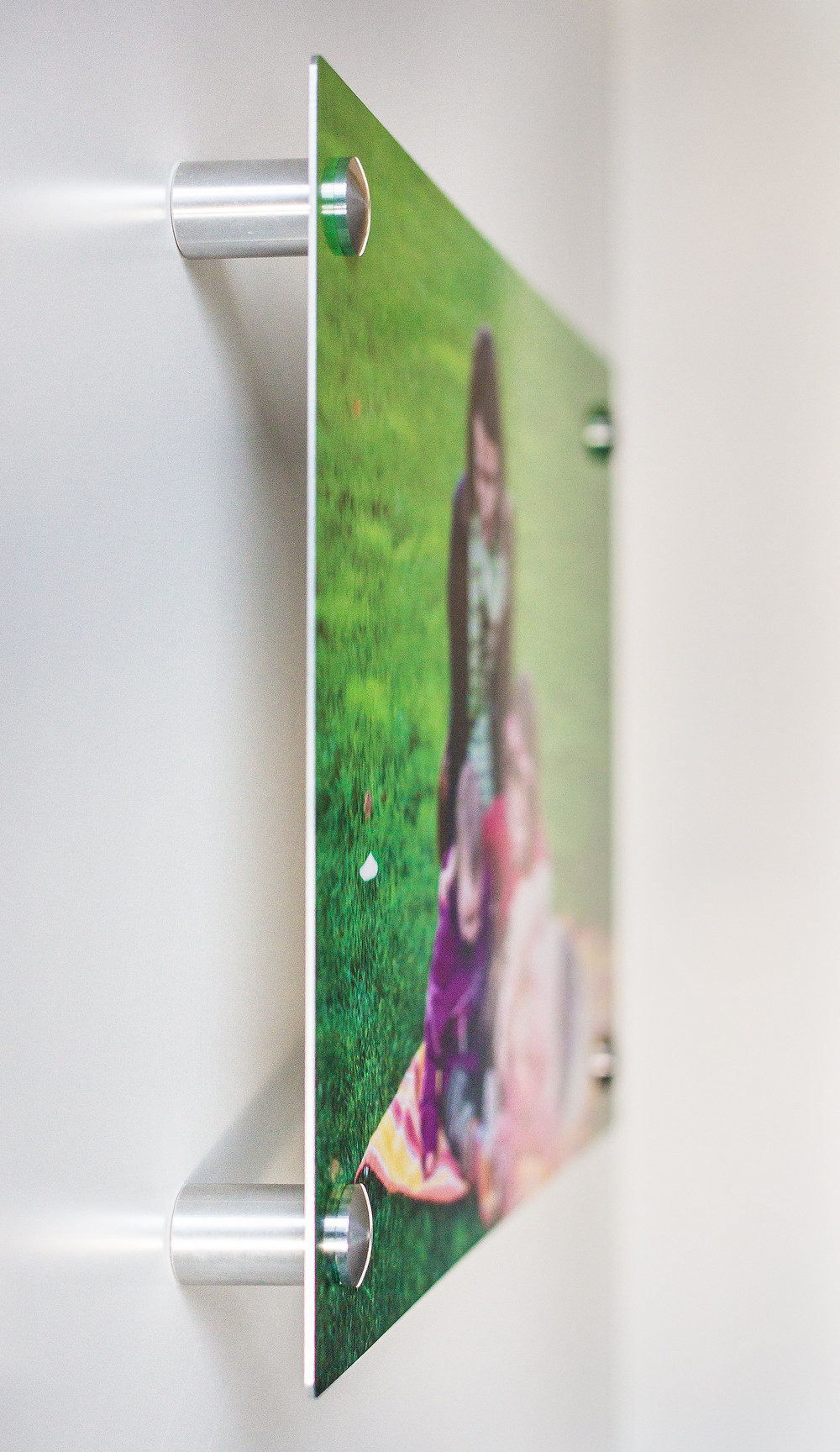 Photographic print on metal