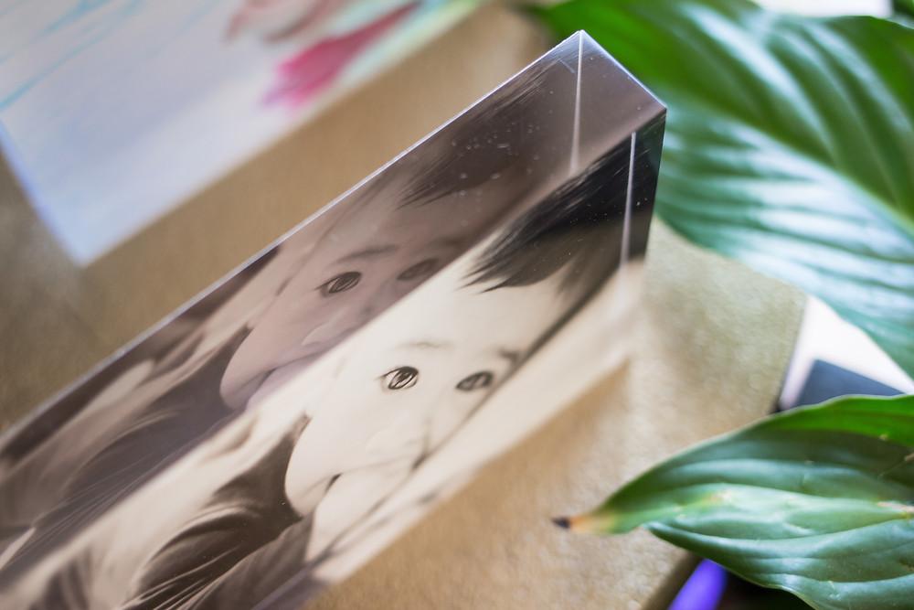 Photographic print on acrylic