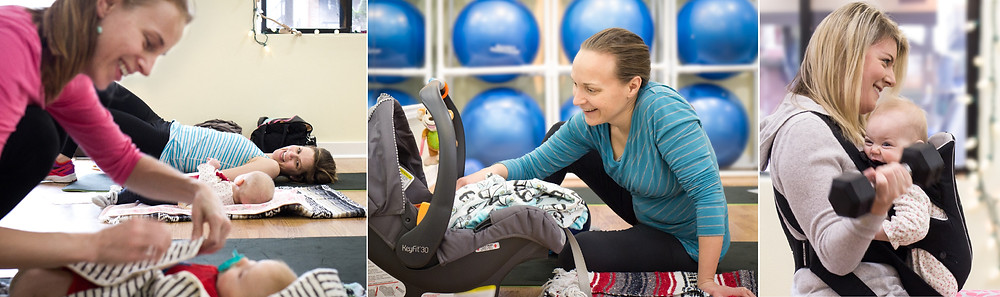 Mom & Baby Gym | happy mamas and happy babies