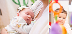Newborn lifestyle session; Kirkland