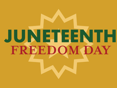 Please Join Us in Observing Juneteenth