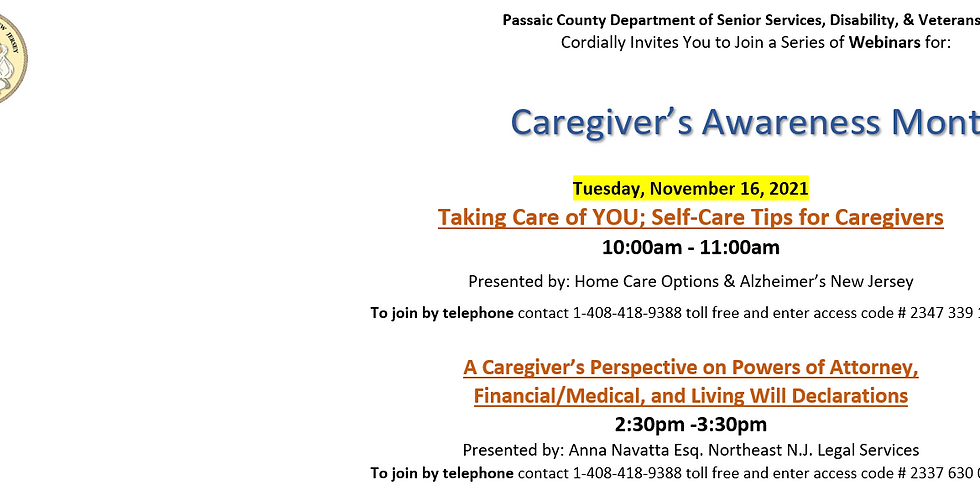 A Caregiver's Perspective on Powers of Attorney, Financial/Medical, and Living Will Declarations