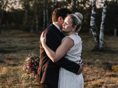 Romantisches Boho After Wedding Shooting Hiltruper See & Auf der Waard