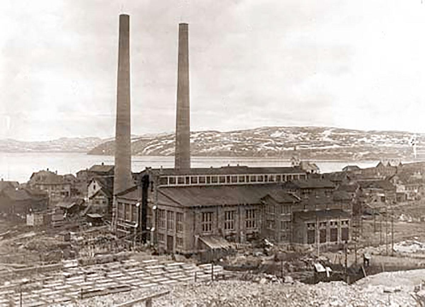 Den gamle dampsentralen