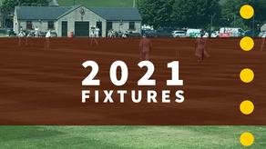 2021 Fixtures Released