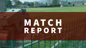 Match Report   Snow stops play