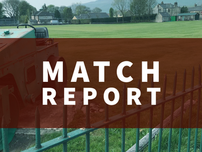 Match Report | Snow stops play