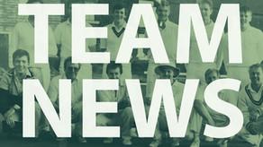 Team News   Saturday 1st & Sunday 2nd September
