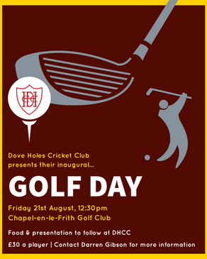 Dove Holes CC Golf Day | Tee Times & Rules